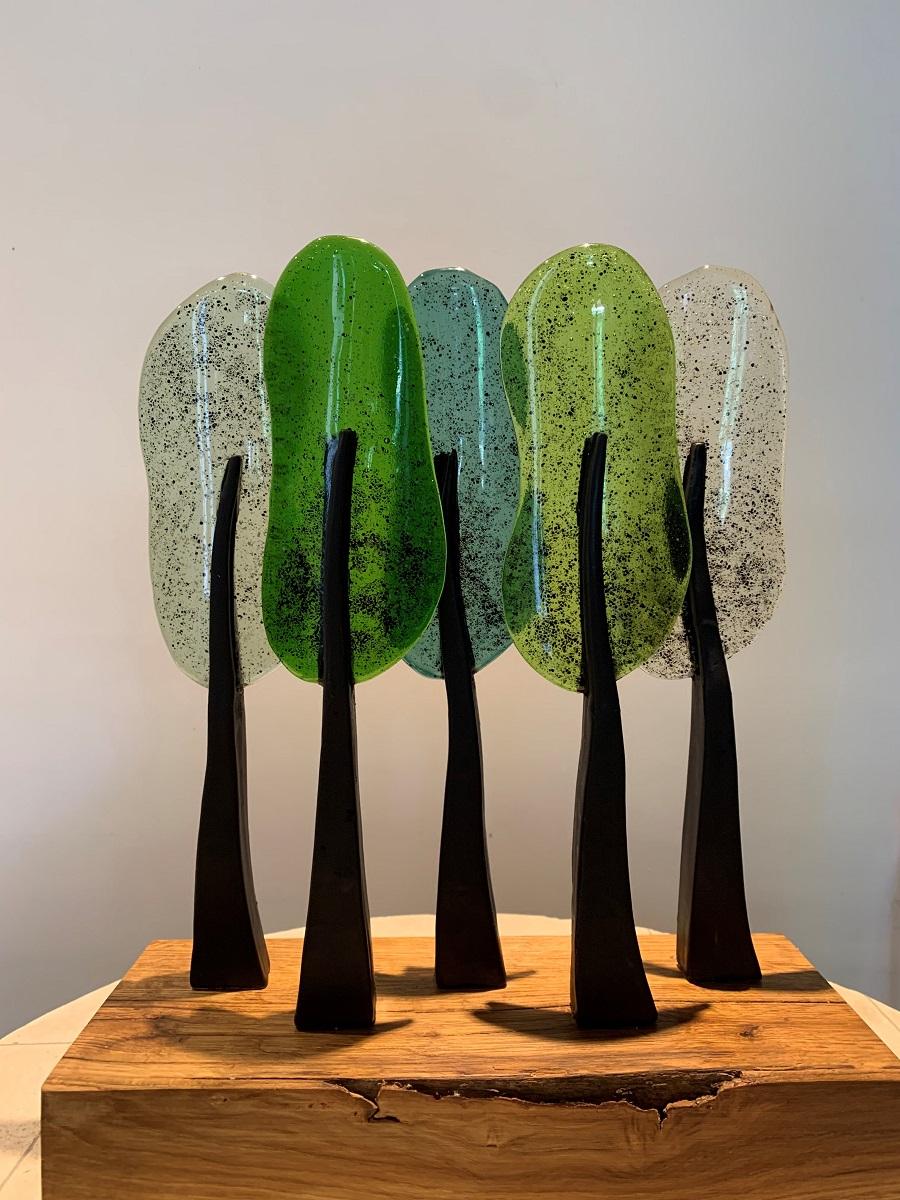 Bome 5 dik blok - Maureen Heijdemann - Glasvaardig