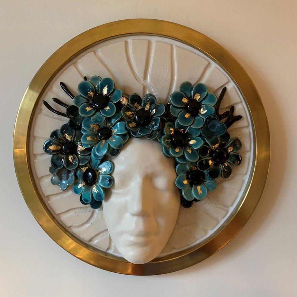 Flowergirl 2 - Maureen Heijdemann - Glasvaardig