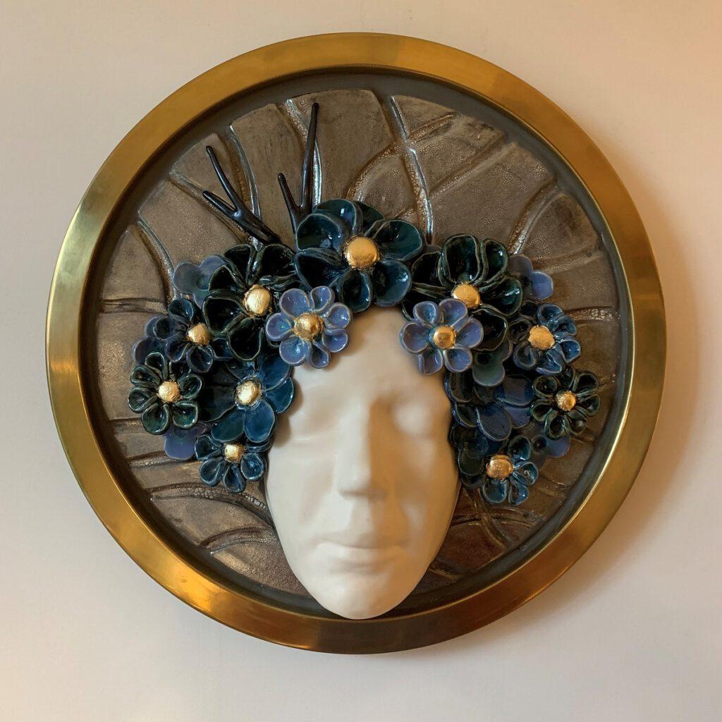 Flowergirl 3 - Maureen Heijdemann - Glasvaardig