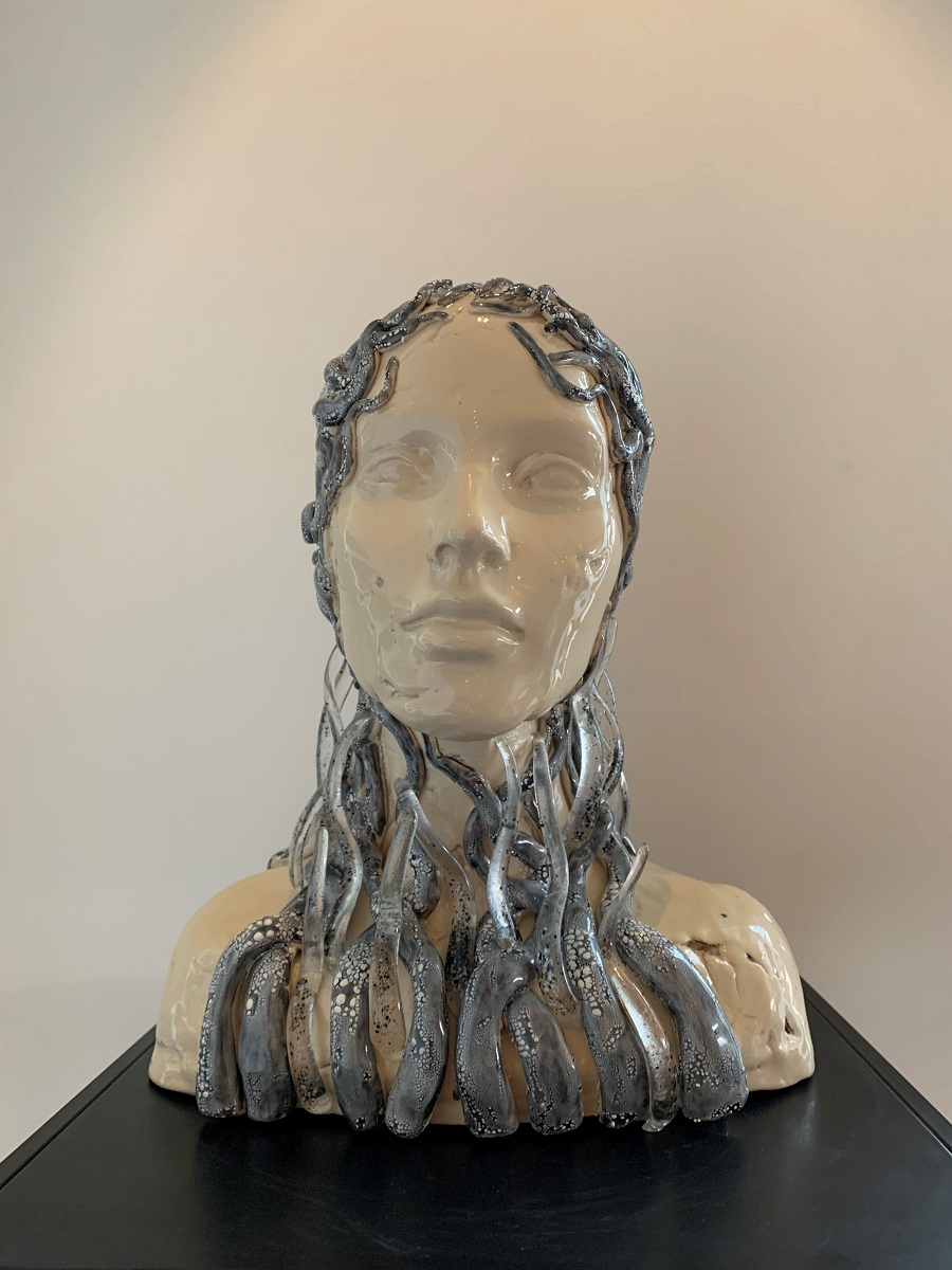 Hoofd tak - Maureen Heijdemann - Glasvaardig