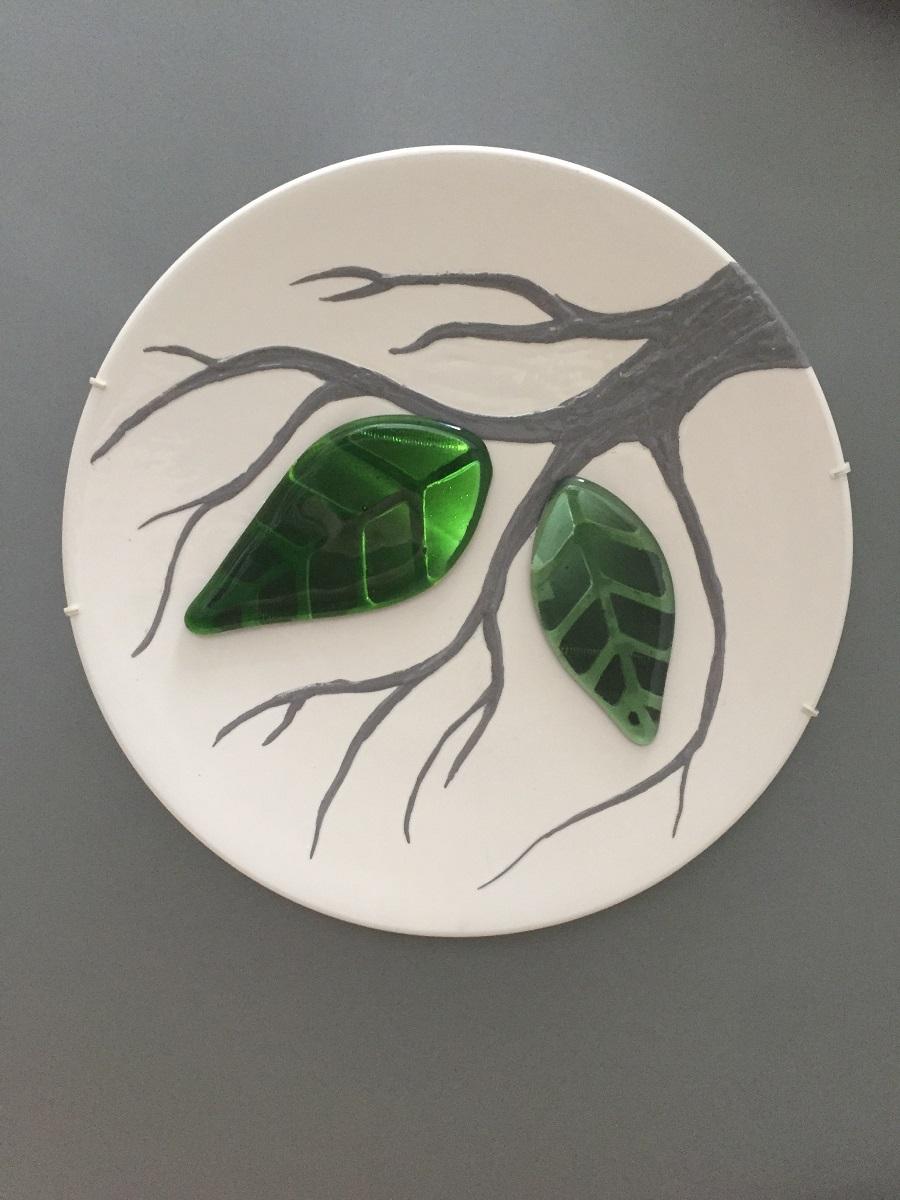Blad - Maureen Heijdemann - Glasvaardig