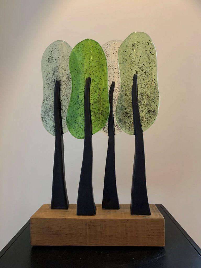 Bomen 4 - Maureen Heijdemann - Glasvaardig